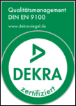 Zertifikat EN 9100 / AS 9100